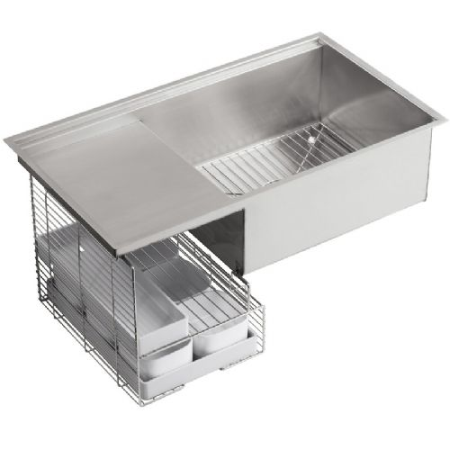 Kohler Stages Stainless Steel Kitchen Sink - 3760-NA